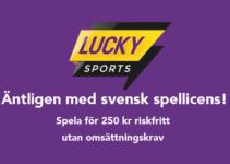 lucky sports nu med svensk spellicens