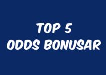 bäst odds bonusar